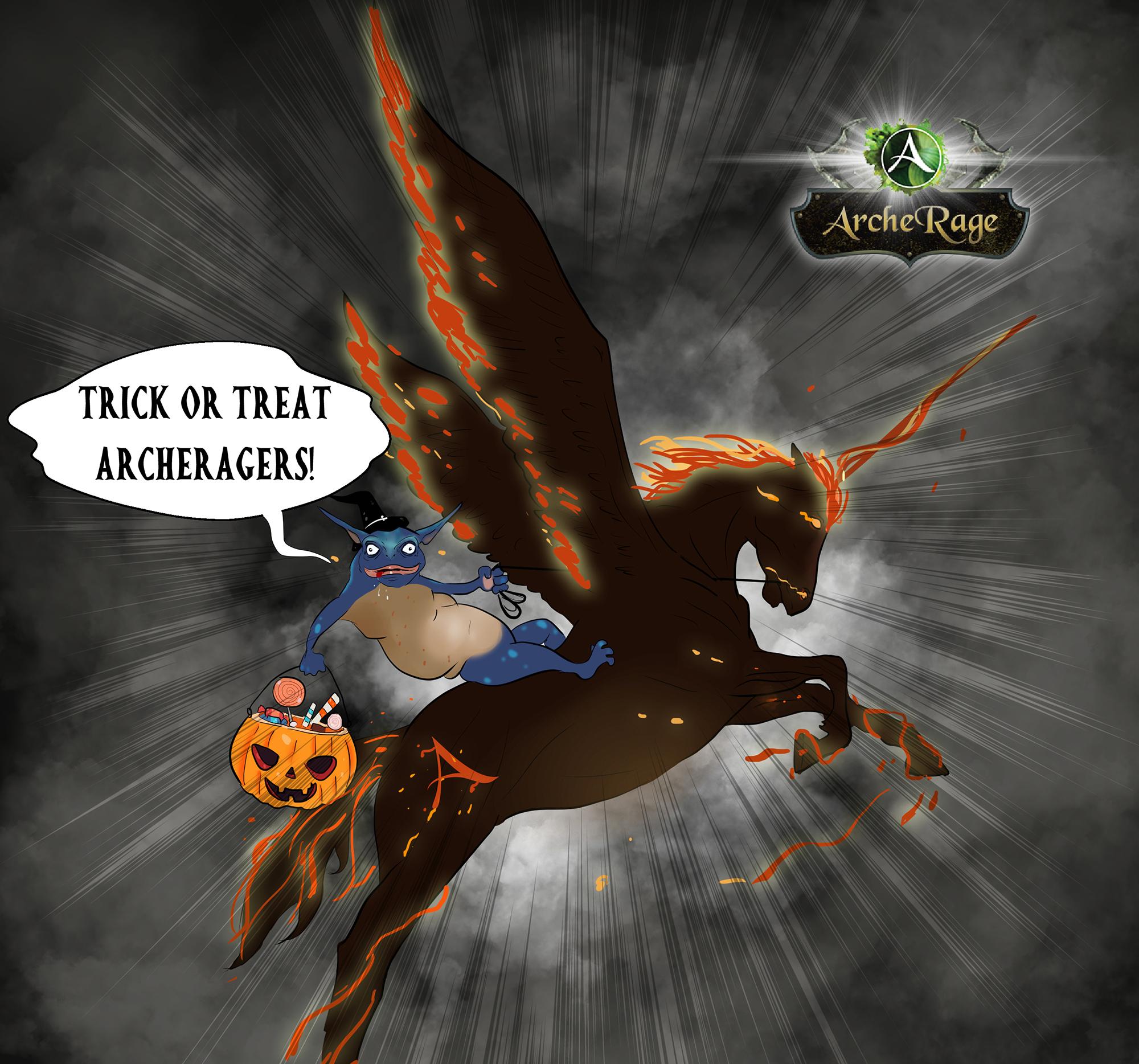 archeage halloween horse.jpg