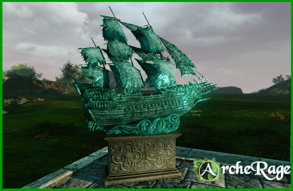 Delphinad Ghost Ship Bronze Statue.png