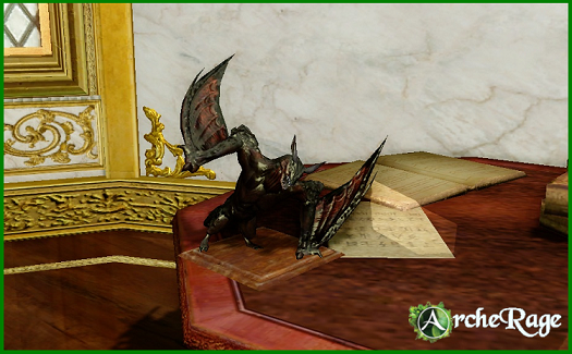 Painted Gargoyle Statue_1.png