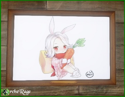 Rabbit with Carrot Poster.jpg